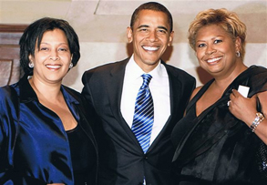D&V with Barack Obama at Barack on Broadway!!