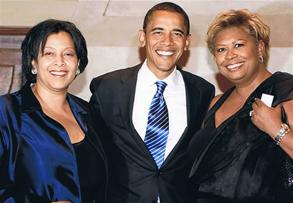 D&V with Barack Obama at Barack on Broadway!!
